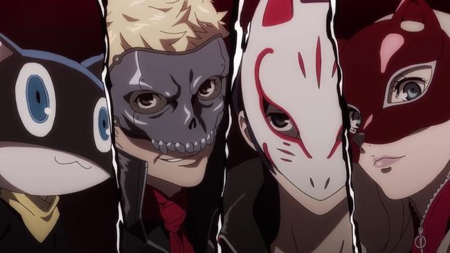 ペルソナ5 オリジナルアニメ THEDAYBREAKERS AbemaTV 再放送に関連した画像-01