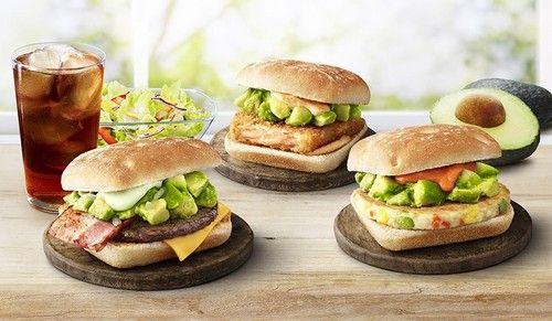 マクドナルド 新商品 新メニュー 朝マック アボカドバーガー フレッシュマック ハンバーガー アボカドに関連した画像-01