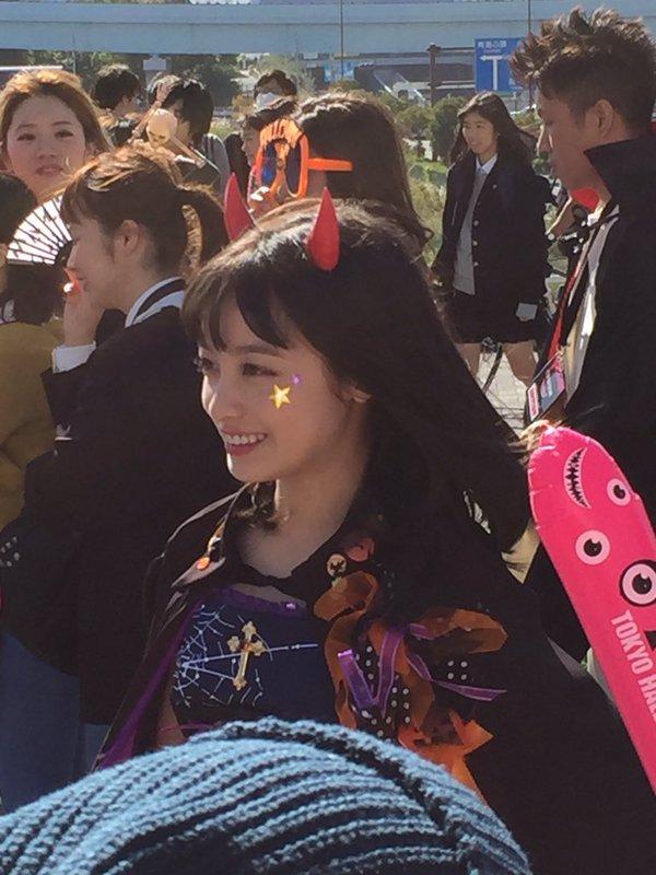 ハロウィン お台場 橋本環奈 アイドル パレードに関連した画像-07