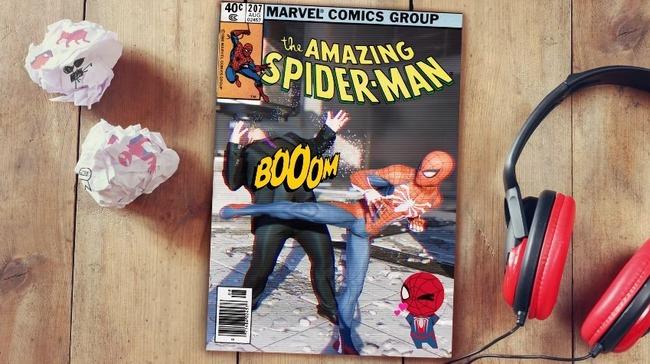 スパイダーマン フォトモード アメコミ風に関連した画像-06