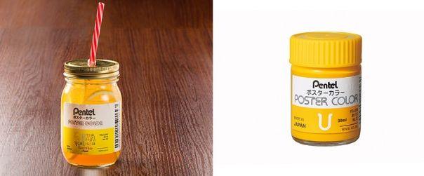 画材 メーカー ぺんてる 公式カフェ ラクガキカフェ メニュー ポスターカラー 消しゴム 修正液に関連した画像-04