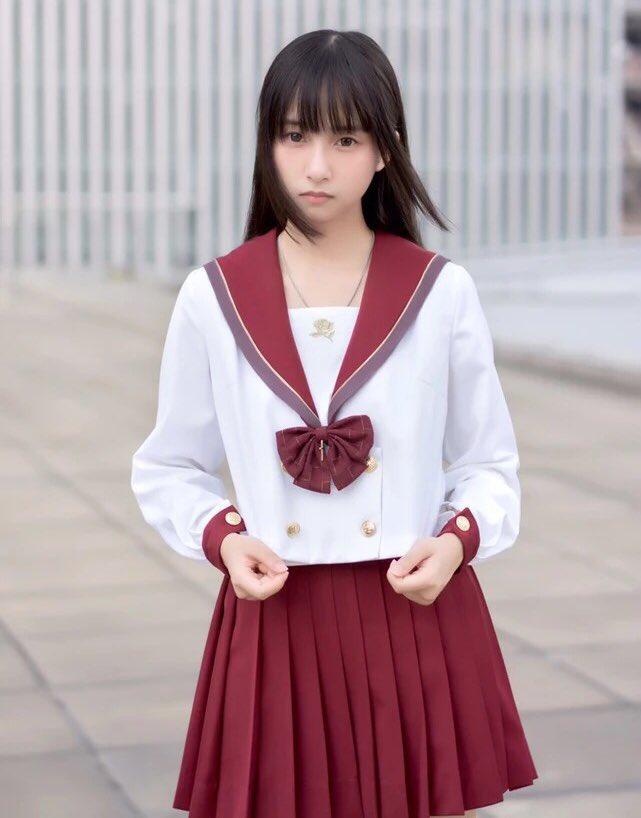 JK系 中国 ファッションに関連した画像-03