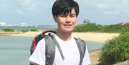 沖縄から日本縦断の高校生、二日でリタイアした模様