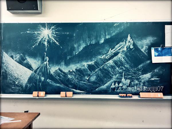 黒板 ラクガキに関連した画像-02