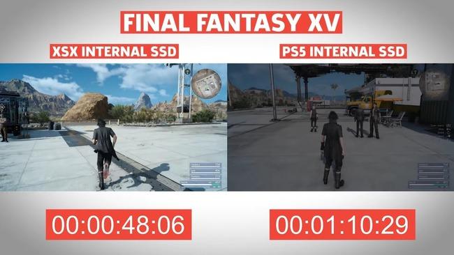 PS5 XboxSX ロード時間 比較に関連した画像-03