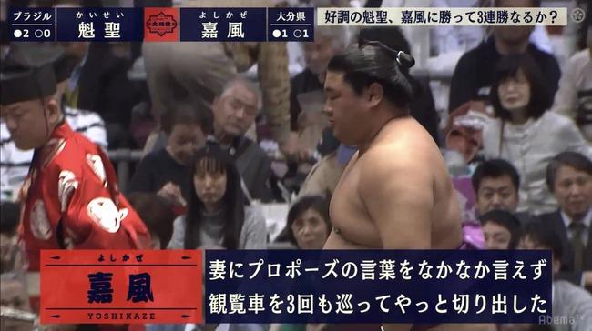 AbemaTV 大相撲 力士 ステータス 格ゲーに関連した画像-06