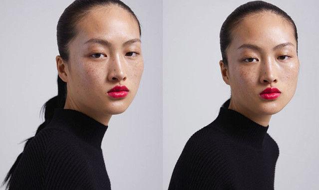 ZARA そばかす モデル アジア人 侮辱 中国ネットに関連した画像-01