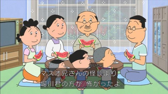 サザエさん 堀川くん サイコパス セミの抜け殻に関連した画像-15