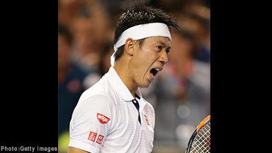 錦織圭 テニス  ベスト8 全豪オープンに関連した画像-01