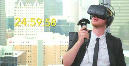 VR生活 連続 ヴァーチャルリアリティ 25時間 ギネス世界記録 VRに関連した画像-01