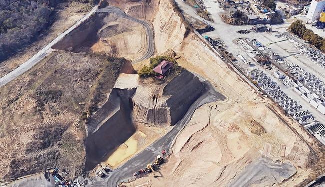 愛知県 ポツンと一軒家 立ち退き拒否 陸の孤島に関連した画像-02