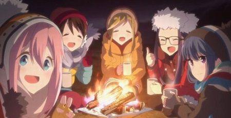 ゆるキャン△ キャンプ キャンパー 冬に関連した画像-01