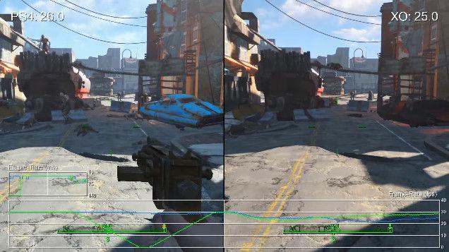 フォールアウト4 動画 fps 計測 PS4 XboxOne ベセスダ・ソフトワークスに関連した画像-11