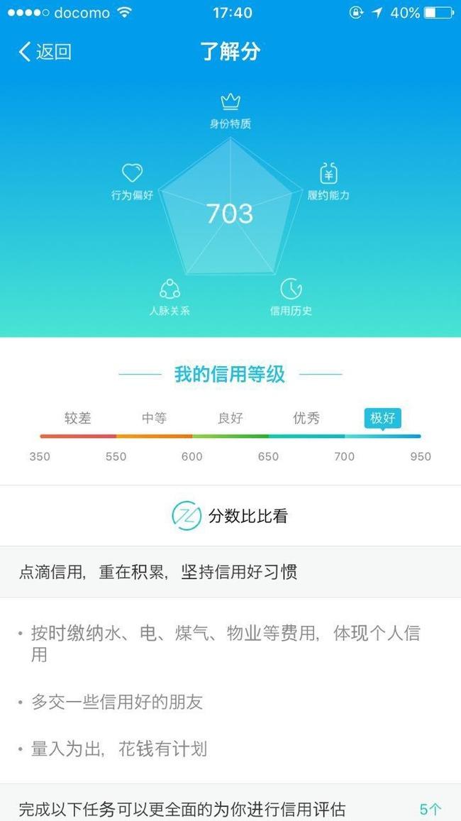 中国 芝麻信用 信用度 数値化 マナー向上に関連した画像-03