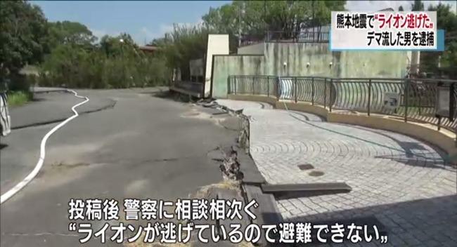 ツイッター デマ 逮捕 熊本地震 ライオン 動物園に関連した画像-08