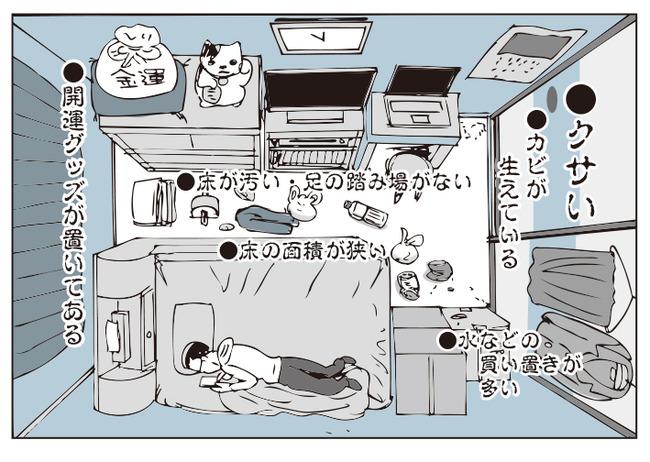 貧乏になる部屋 特徴に関連した画像-03