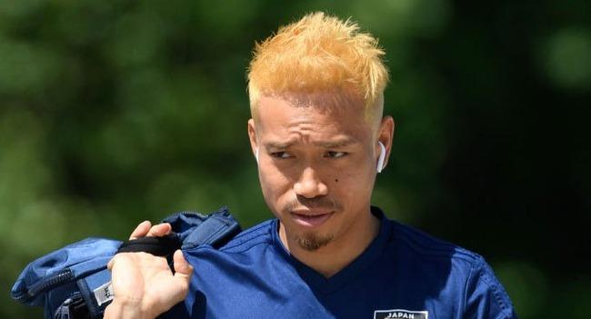 サッカー日本代表 長友 金髪 スーパーサイヤ人に関連した画像-01