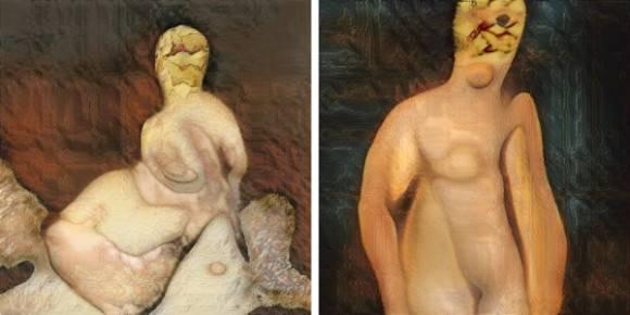 AI 人工知能 裸婦画に関連した画像-04