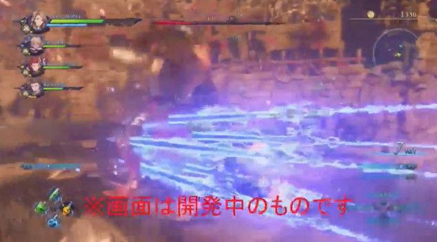 グランブルーファンタジー リンク PS4 Re:LINK アクションRPG プレイ動画に関連した画像-20