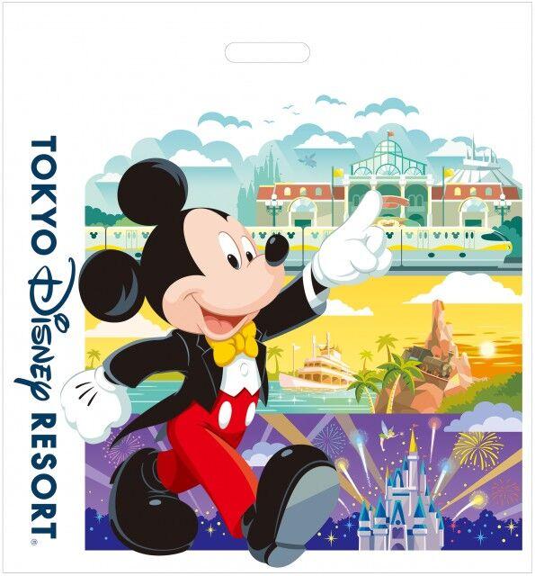 東京ディズニーランド シー 東京ディズニーリゾート 買い物袋 レジ袋 有料化 20円 価格 値段に関連した画像-03