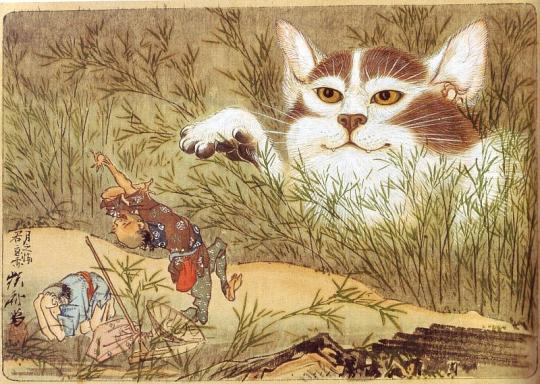 釣り 川 猫 人懐っこい でかいに関連した画像-01