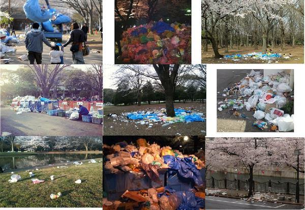 ゴミ 放置 江ノ島 花火大会 これが日本人に関連した画像-05
