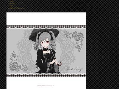 デレマス 神崎蘭子 ファッションブランド コラボ 完全再現 ゴシックドレス ゴスロリ 受注販売に関連した画像-02