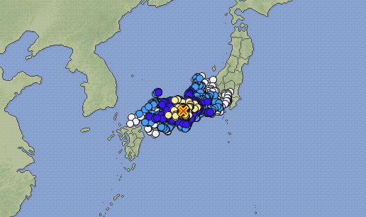 【速報】 大阪などで震度6弱の地震発生