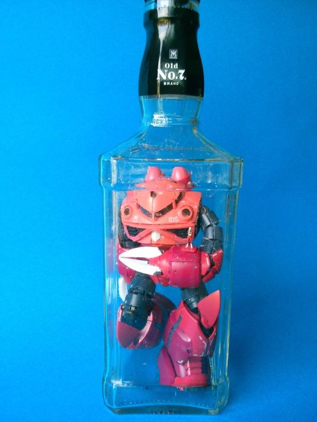 ガンダム オタク ガンプラ ボトルシップに関連した画像-02