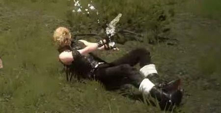 ファイナルファンタジー15 ゼノブレイドクロス スライディング 銃 攻撃に関連した画像-01