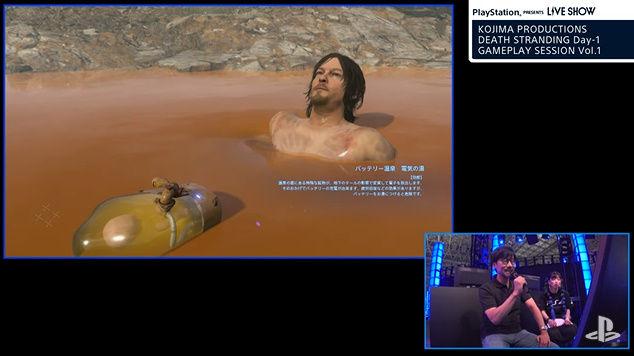 デス・ストランディング ノーマン・リーダス 温泉 いい湯だな 歌うに関連した画像-05