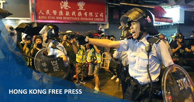 香港 中国 デモ 催涙弾に関連した画像-01