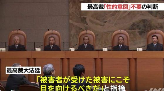 性犯罪 強制わいせつ罪 性的な意図 最高裁 判例 加害者 被害者に関連した画像-01