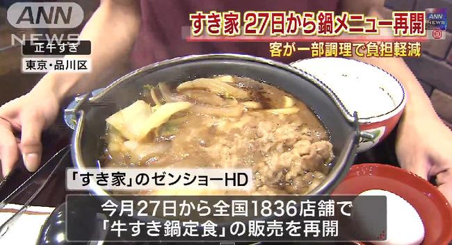 すき家 牛すき鍋 従業員に関連した画像-02