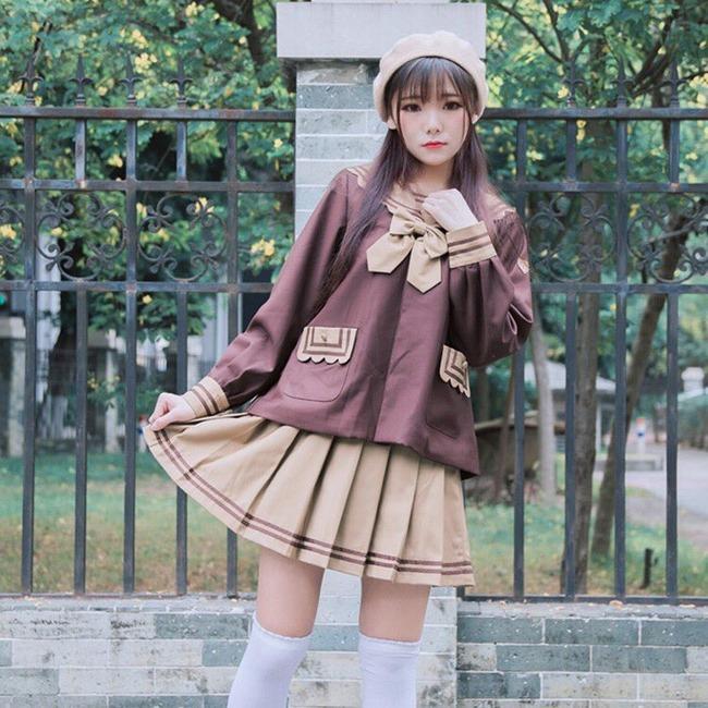 JK系 中国 ファッションに関連した画像-05