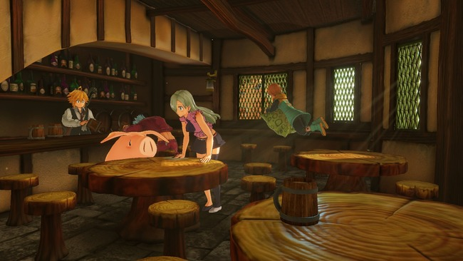 七つの大罪 ゲーム PS4に関連した画像-16
