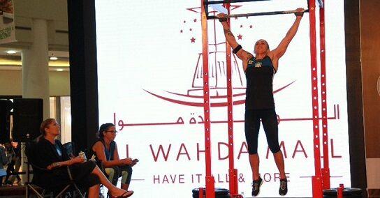 ギネス世界記録懸垂女性に関連した画像-01