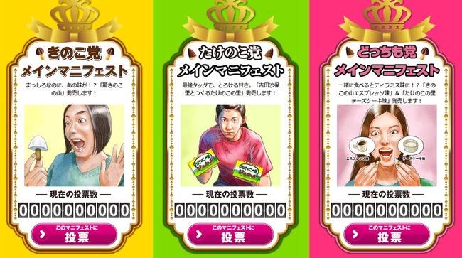 きのこたけのこ総選挙に関連した画像-03