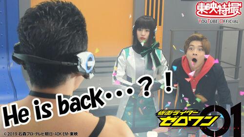 仮面ライダーゼロワン 腹筋崩壊太郎 なかやまきんに君 スピンオフに関連した画像-03