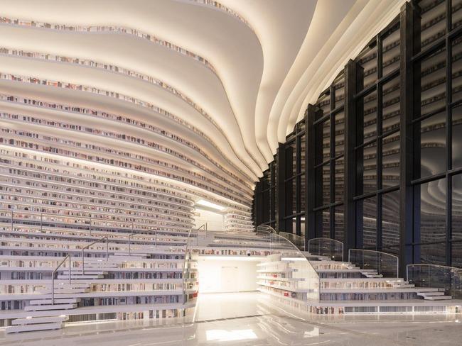 中国 図書館 浜海新区図書館に関連した画像-05