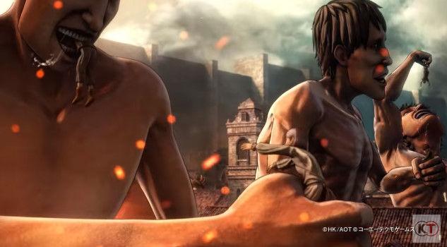 進撃の巨人 PS4 ゲーム PVに関連した画像-03