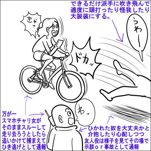自転車 当たり屋に関連した画像-04