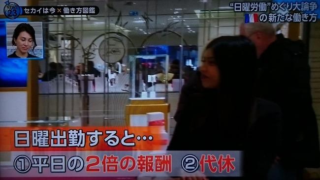 フランス 日曜 労働 日本 給料に関連した画像-02