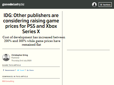 次世代機 PS5 ソフト 値段 値上げ 検討に関連した画像-02
