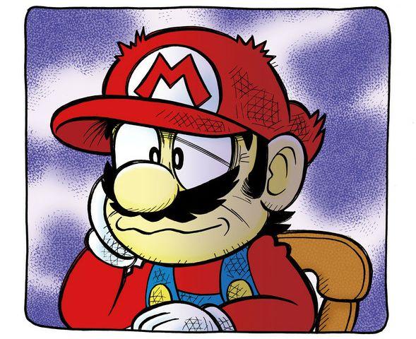 スーパーマリオくん マリオ 沢田ユキオ 25周年 連載 スーパーマリオッさん 鬱に関連した画像-01