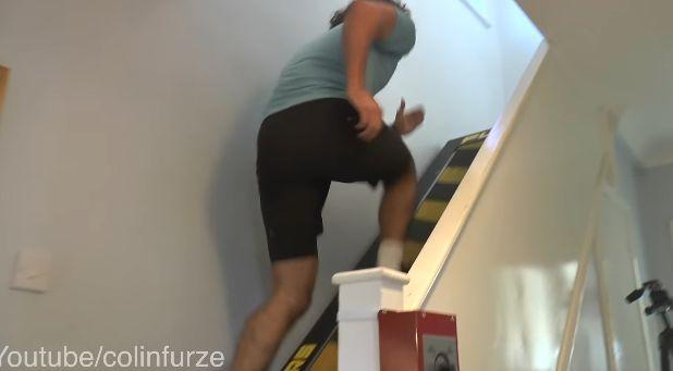ユーチューバー 階段 ベルトコンベアーに関連した画像-05