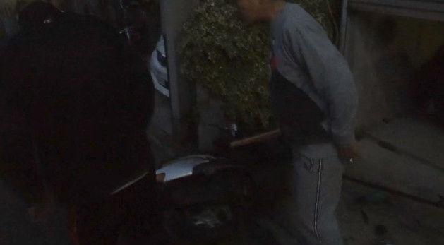 PS4 破壊 親父 ハンマー たむちん 逆襲 原付バイクに関連した画像-18