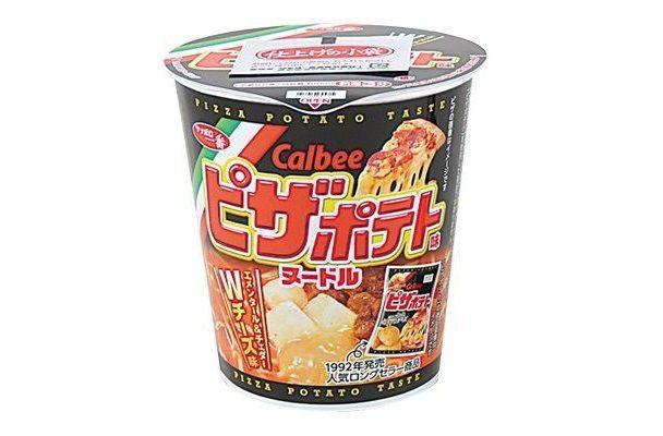 ピザポテト味のカップ麺が爆誕!!!