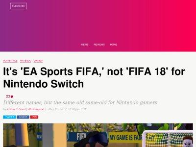 ニンテンドースイッチ FIFA EAに関連した画像-02