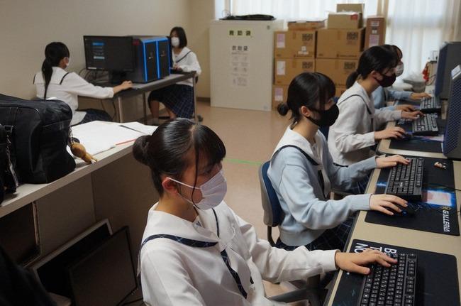 【すげぇ】日本で初めて女子高生だけの「eスポーツ部」設立!! フォートナイトなどガチの練習を行う